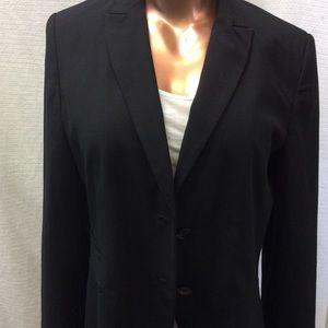 Black Tailored Suit Blazer
